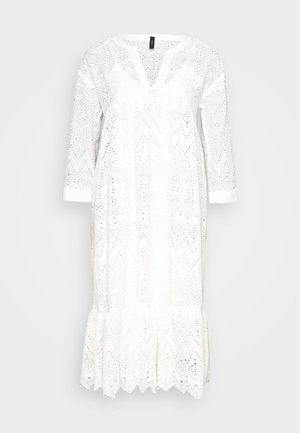 YASMILIVANNA 3/4 DRESS TALL - Kjole - white