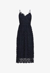 YAS - YASLUIE STRAP MIDI DRESS - Cocktailklänning - dark sapphire - 0