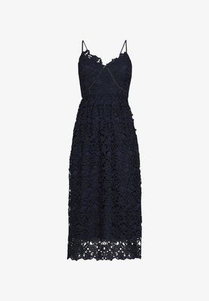 YASLUIE STRAP MIDI DRESS - Cocktailjurk - dark sapphire