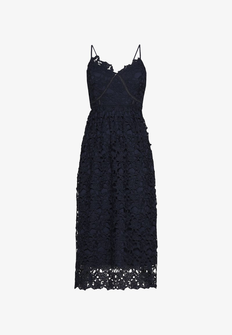 YAS - YASLUIE STRAP MIDI DRESS - Cocktailklänning - dark sapphire