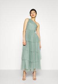 YAS - YASVIDIA  DRESS - Iltapuku - oil blue - 0