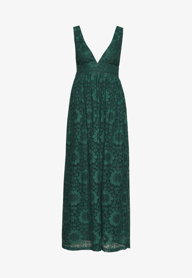 YASCHESHIRE MAXI DRESS - Iltapuku - evergreen