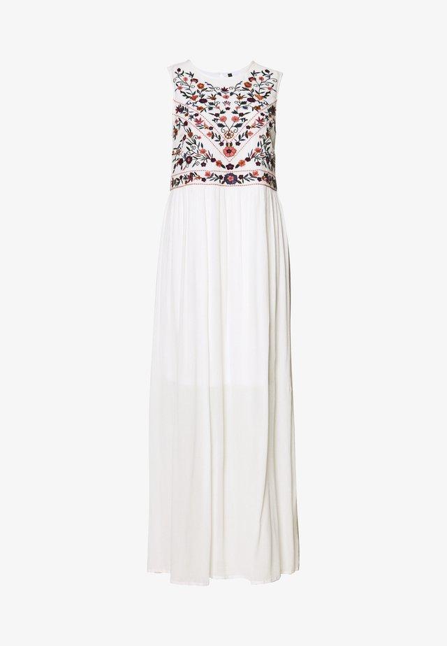 YASCHELLA DRESS  - Długa sukienka - star white