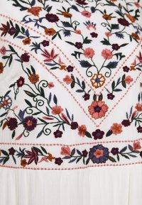 YAS - YASCHELLA DRESS  - Maxi dress - star white - 2