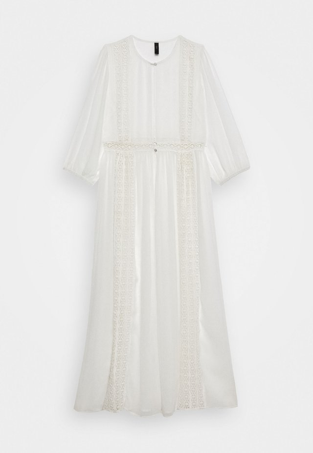 YASDAGMAR THROW OVER - Maxi-jurk - star white