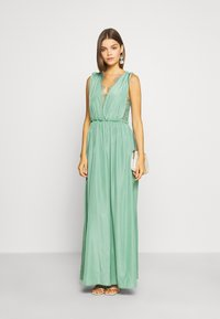 YAS - ELENA MAXI DRESS SHOW - Galajurk - oil blue - 1