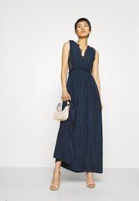 YAS - ELENA MAXI DRESS SHOW - Vestido de fiesta - dark sapphire - 1