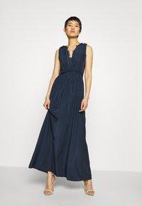 YAS - ELENA MAXI DRESS SHOW - Vestido de fiesta - dark sapphire - 0