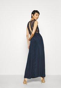 YAS - ELENA MAXI DRESS SHOW - Vestido de fiesta - dark sapphire - 2