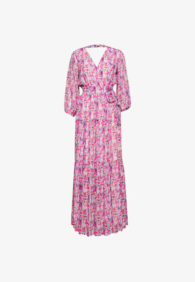 YASESMERALDA WRAP 3/4 DRESS SHOW - Vestido largo - cradle pink