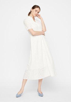 YASHOLI SS LONG  SHIRT DRESS S. - Maxi dress - star white