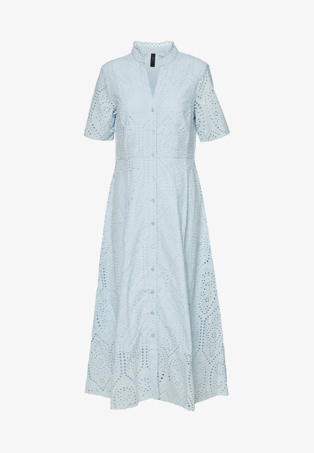 YASHOLI SS LONG  SHIRT DRESS S. - Maxikleid - cool blue