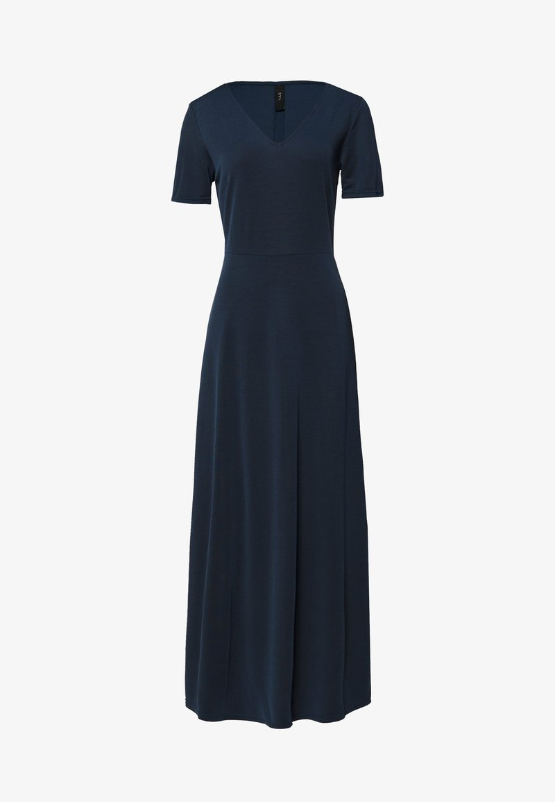 YAS - NANCY ANKLE DRESS - Maxi-jurk - navy