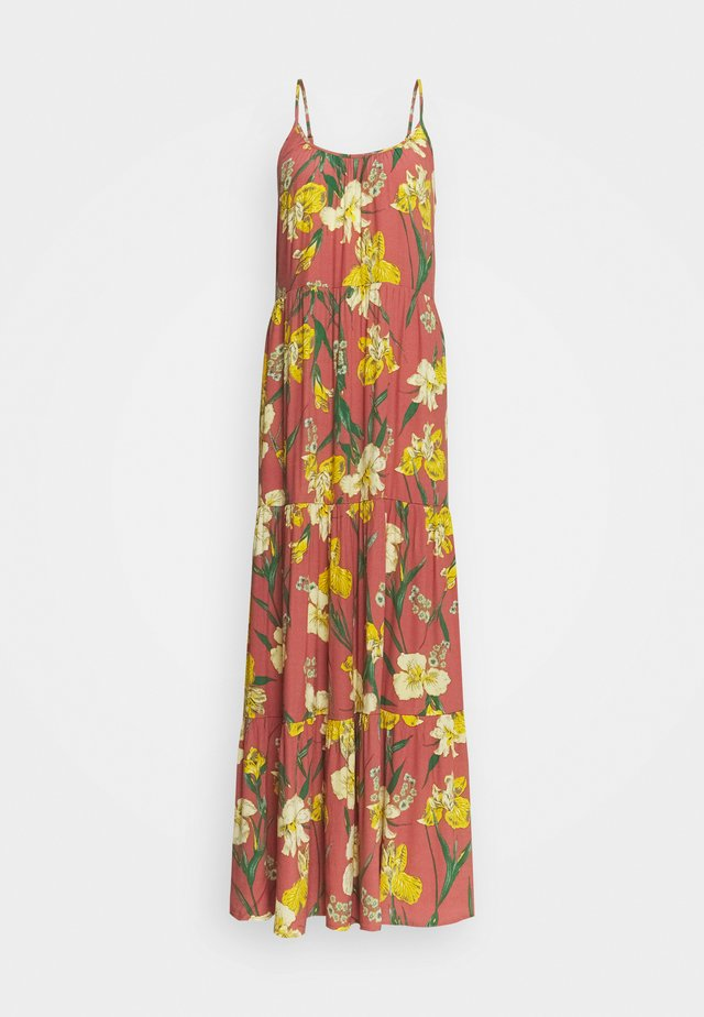 YASTROPICANA STRAP ANKLE DRESS - Maxi-jurk - canyon rose