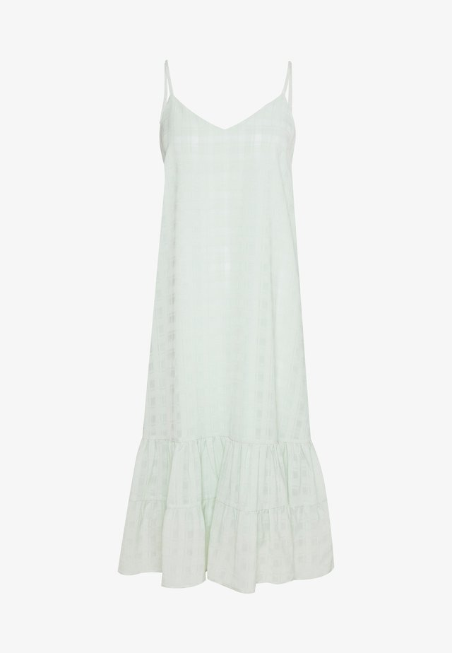 YASVEGA STRAP DRESS - Korte jurk - sea foam
