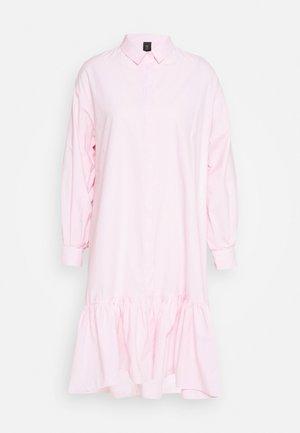 YASDANOLA MIDI SHIRT DRESS - Day dress - cradle pink