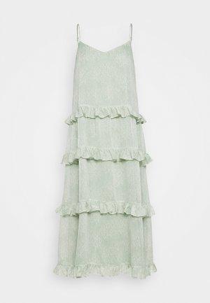 YASALICE STRAP MIDI DRESS SHOW - Korte jurk - misty jade