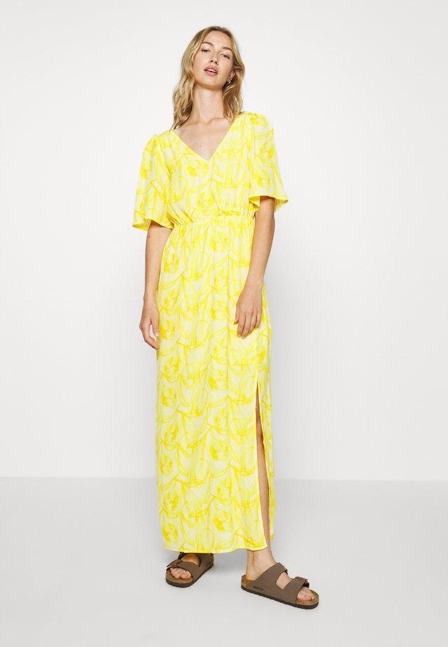 YASANASTASIA ANKLE DRESS - Maxiklänning - mellow yellow