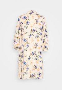 YAS - YASSOPHIA SHIRT DRESS - Blusenkleid - light yellow - 1