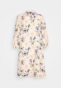 YAS - YASSOPHIA SHIRT DRESS - Blusenkleid - light yellow - 0