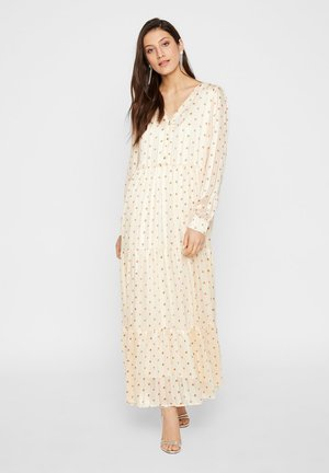 YAS MAXIKLEID YASLUNA - Maxi dress - antique white