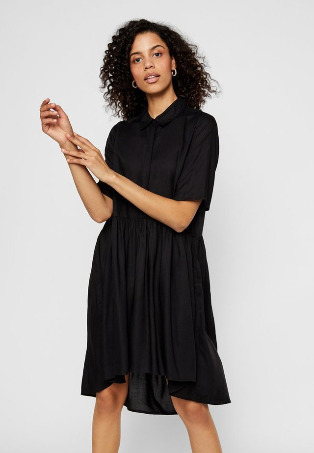 YASGOA - Shirt dress - black
