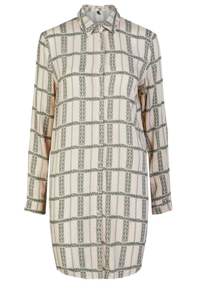 YASFLOCHA - Button-down blouse - beige