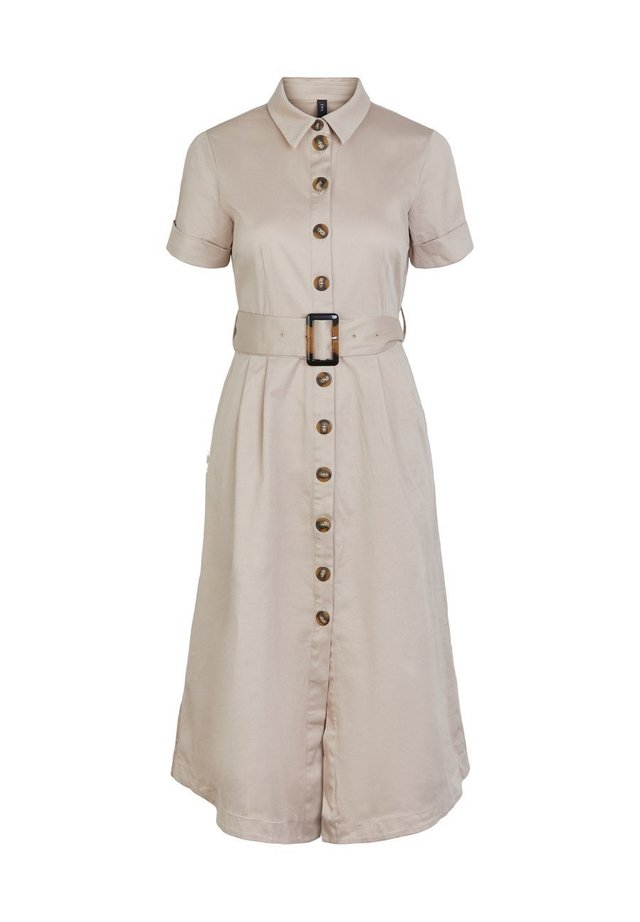 YASTALISA - Shirt dress - light taupe