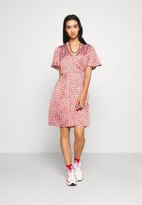 YAS - YASAYLIN DRESS  - Korte jurk - eggnog - 0