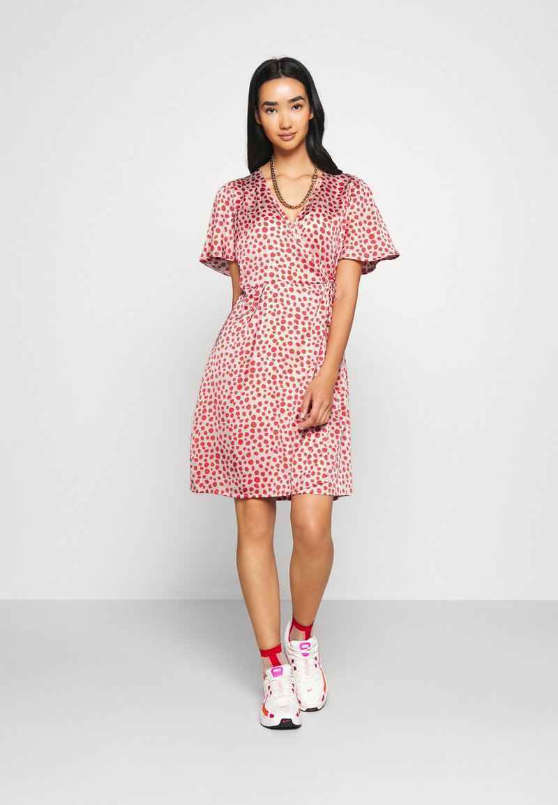YAS - YASAYLIN DRESS  - Korte jurk - eggnog