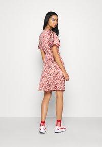 YAS - YASAYLIN DRESS  - Korte jurk - eggnog - 2