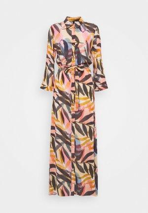 YASKATHA 3/4 ANKLE DRESS - Vestito lungo - vibrant yellow