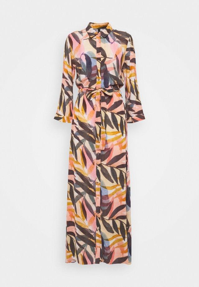 YASKATHA 3/4 ANKLE DRESS - Długa sukienka - vibrant yellow