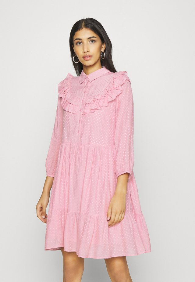 YASALVA 3/4 DRESS - Freizeitkleid - pink nectar