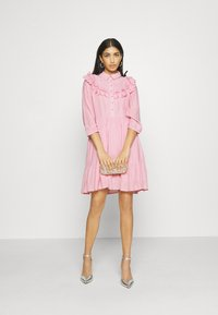 YAS - YASALVA 3/4 DRESS - Robe d'été - pink nectar