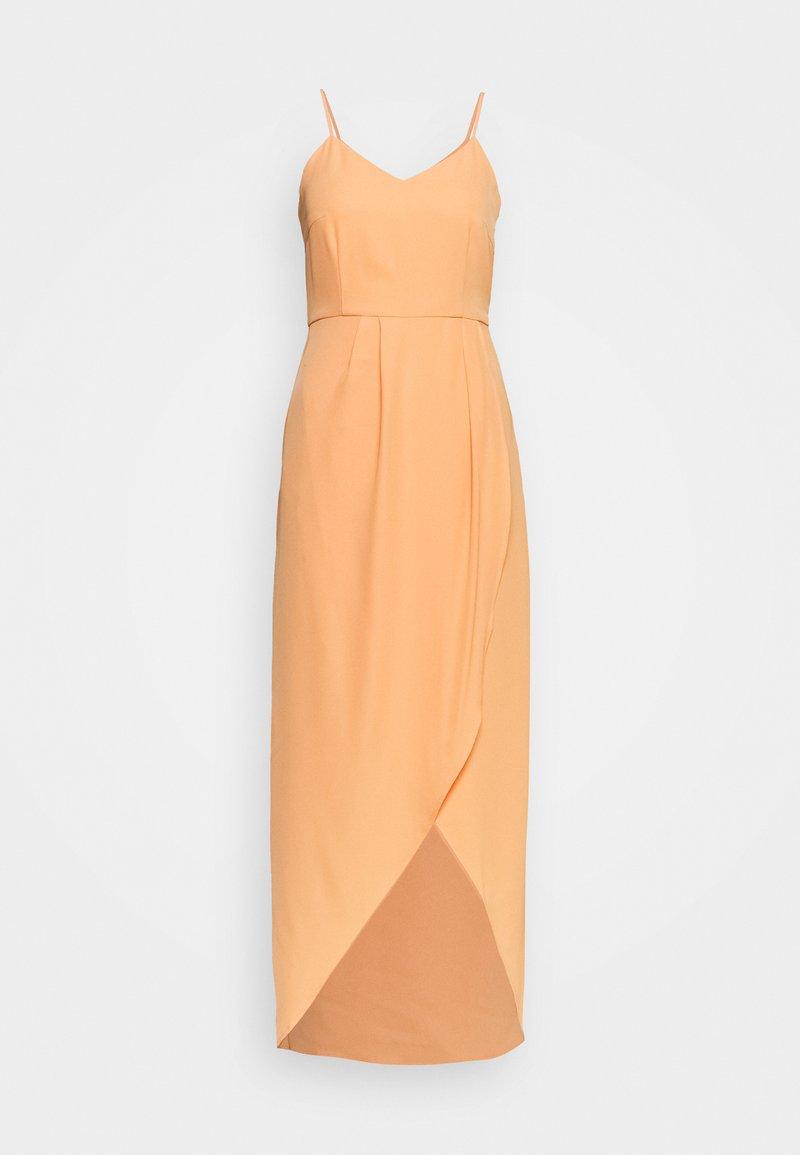 YAS - YASVADUZ STRAP DRESS SHOW - Maxi-jurk - cantaloupe