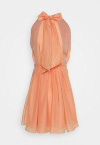 YAS - YASLONDON HALTERNECK DRESS SHOW - Vestido de cóctel - cantaloupe - 1