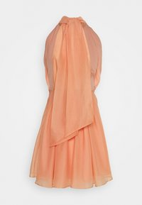 YAS - YASLONDON HALTERNECK DRESS SHOW - Vestido de cóctel - cantaloupe - 2