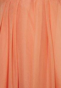 YAS - YASLONDON HALTERNECK DRESS SHOW - Vestido de cóctel - cantaloupe - 3