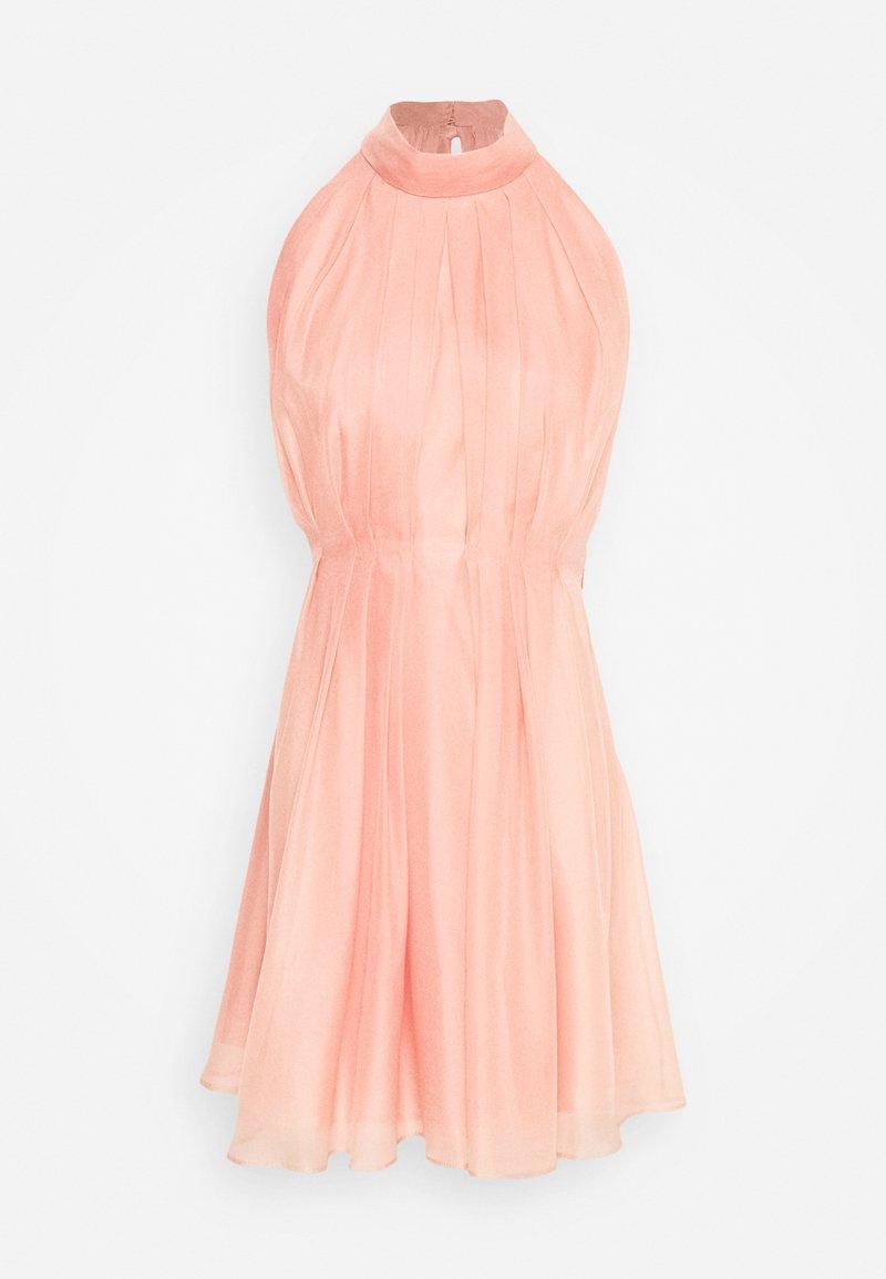 YAS - YASLONDON HALTERNECK DRESS SHOW - Vestido de cóctel - cantaloupe