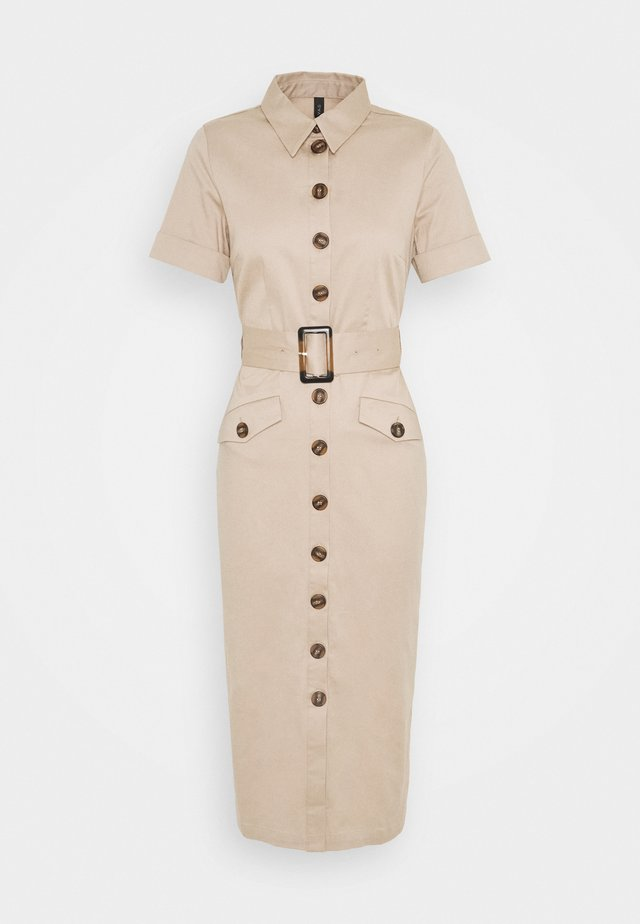 YASTALISA MIDI DRESS - Blousejurk - light taupe