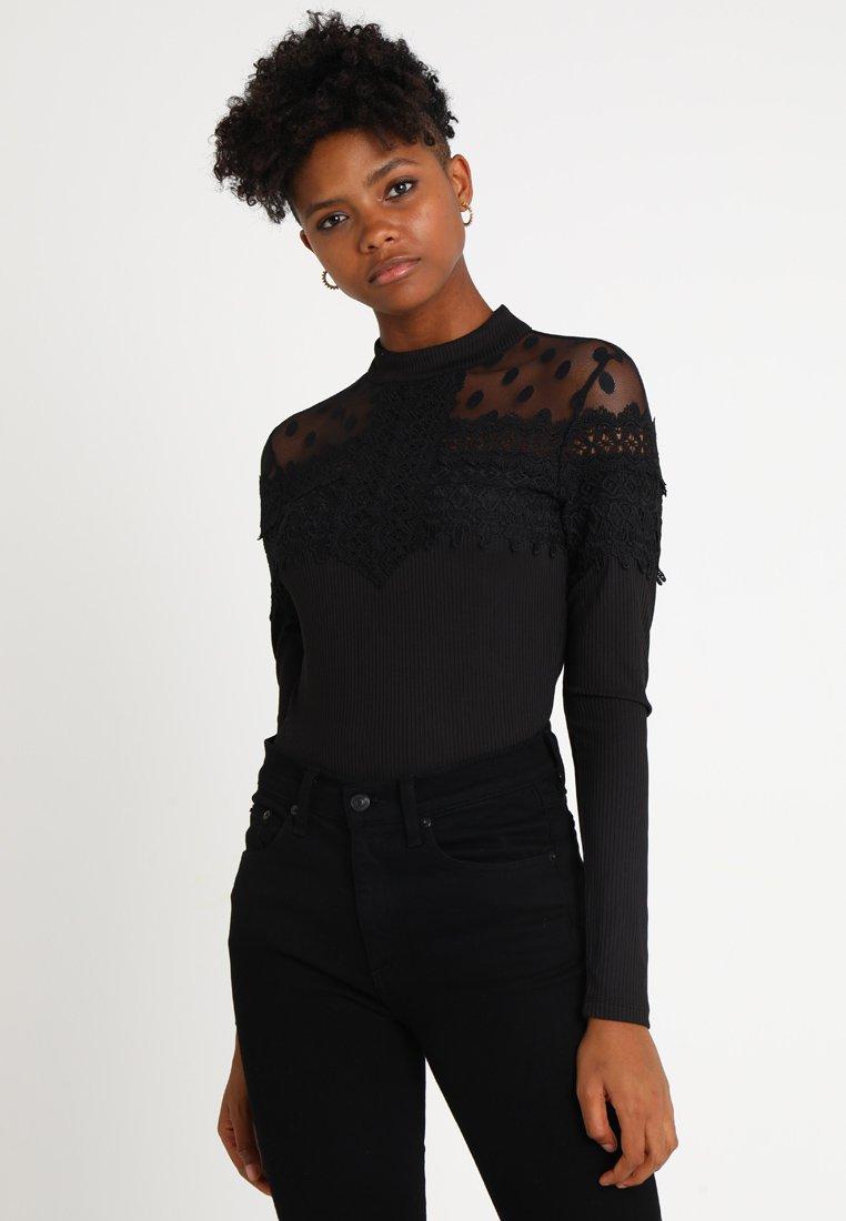 YAS - YASBLAX - Langarmshirt - black