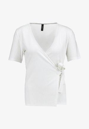 YASTERRIE - Print T-shirt - star white