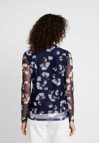 YAS - YASLARY - T-shirt à manches longues - dark blue - 2