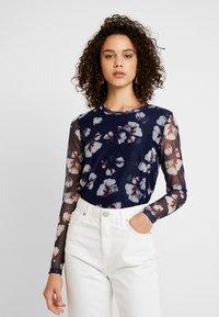 YAS - YASLARY - T-shirt à manches longues - dark blue - 0