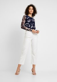 YAS - YASLARY - T-shirt à manches longues - dark blue - 1