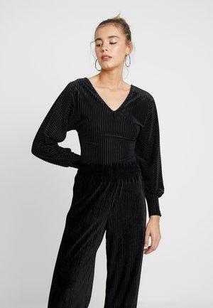YASNATTI BODYSTOCKING - Langærmede T-shirts - black