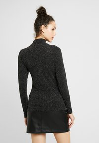 YAS - YASLORETTA SHOW - Long sleeved top - black/silver - 2