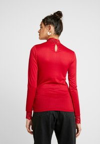 YAS - YASBLACE HIGHNECK  - Long sleeved top - chili pepper - 2