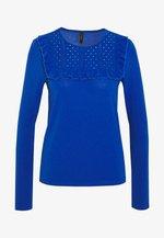 YASLEONORA - Topper langermet - mazarine blue